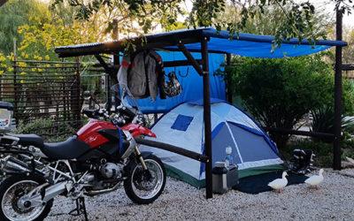 Bikers Camping